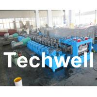 Wholesale Galvanized Steel Silo Corrugated Roll Forming Machine With 18 Forming Stations from china suppliers