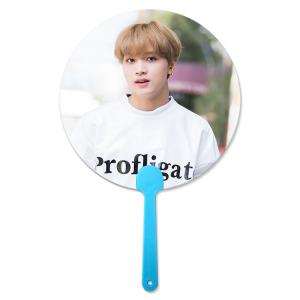 Wholesale 17x17cm Flip 3D Lenticular Hand Fan Korea Star For Kpop Idol from china suppliers