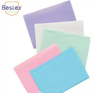 Wholesale Colorful Medical Surgical 33cm 45cm Disposable Dental Bib from china suppliers