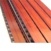 Wholesale Anti Moisture Music Studio Acoustic Panels Composite MDF Grooved Wood Panel from china suppliers