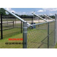 China Hot Dipped Galvanized Chain Link Garden Security Wire Mesh Iron Metal Farm Fence for Garden on sale