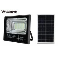 China IP65 waterproof outdoor  100W solar powered led flood light with motion detector on sale