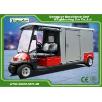 Wholesale RED 48V 2 seater Electric Ambulance Car / Club Emergency Golf Carts from china suppliers