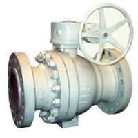 Wholesale WCB Body Trim Trunnion Ball Valve R - PTFE Seat Gear With 300LB Pressure from china suppliers
