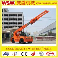 12 tons telescopic boom forklift truck for unloading container
