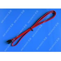Wholesale Red SATA 3.0 6gbps Cable Long SATA Cable 7 Pin SATA To SATA For Set Top Box from china suppliers