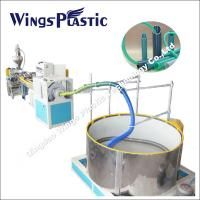 Wholesale PVC Suction Hose Extrusion Line / Plastic spiral Winding Reinforced Hose Making Machine from china suppliers