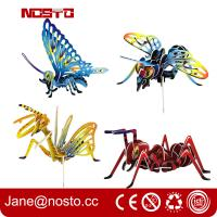 Wholesale 3D Jigsaw Puzzles Insect Cartoon Toys DIY Brain Train promotional toys from china suppliers