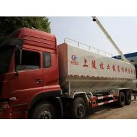 Wholesale biggest dongfeng  8x4 LHD 40cbm bulk feed delivery truck for sale, 20tons-25tons farm-oriented feed truck for sale from china suppliers