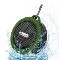Wholesale Portable IPX5  shower waterproof wireless c6 blue tooth speaker from china suppliers