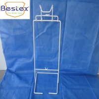 Wholesale White Wire Regular 47*23*21.5cm Disposable Glove Box Holder from china suppliers