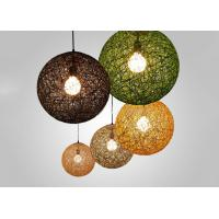 Wholesale Colorful Cane  Grass Suspension Light , Contemporary Lighting Fixtures for Homes from china suppliers