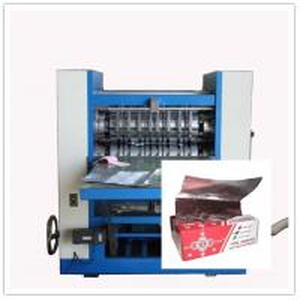 paper folding machine cross fold