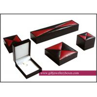 Wholesale Embossed / debossed and CMYK / Full color Magnificent Jewelry Box Set and engagemen jewellry gift boxes from china suppliers