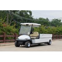 Buy cheap Outdoor Two Seater Electric Golf Carts With Utility Cargo Curtis 350A Controller from wholesalers