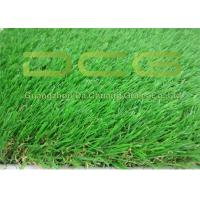 Wholesale Beautiful Artificial Green Grass / Realistic Fake Grass Excellent Durability from china suppliers