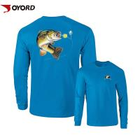 Wholesale Moisture Wicking Personalized Fishing Jersey , Custom Bass Jerseys Youth Adult Sizes from china suppliers