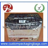 China Protable Slider Grape Bag Fruit Packing Bag With Hanger Hole on sale