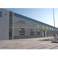 China Fire Proof Quick Build Prefabricated Steel Structure Warehouse Moisture Proof on sale