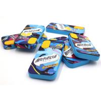 Buy cheap Sugar Free Compressed Mint Candy Sea Salt And Fresh Lemon Flavor from wholesalers