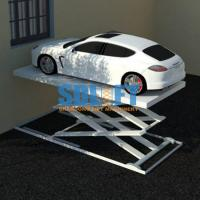 Wholesale 3T 5.6M Hydraulic Scissor Car Lift For Home Garage Portable / Heavy Duty Scissor Lift Table from china suppliers