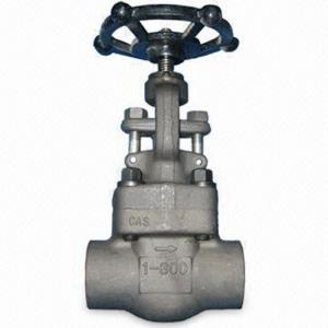Wholesale Outside Screw & Yoke Forged SteelGlobe Valve Swivel Plug Integral Seat API 602 from china suppliers