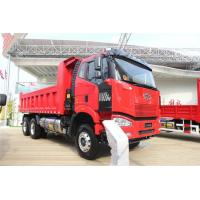 China FAW J6P Diesel Self Loading Dump Truck 6*4 Load Capacity 31 - 40t on sale