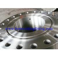 China ASTM B564 UNS N20033  Weld Neck Stainless Steel Forged Flange For Industory on sale
