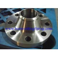Buy cheap Steel Flanges , Weld Neck Flanges / ASTM A 182 , GR F1, F11, F22, F5, F9, F9 from wholesalers