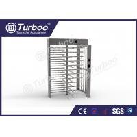 Wholesale Full Height Gate , Turnstile Security Products 30 Persons / Min Transit Speed from china suppliers