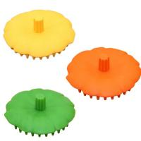 Wholesale Knead Head Cleaning Silicone Bristle Face Brush 90*36mm Keep Hair Health from china suppliers