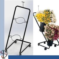 Floral Stand Display Stand /2 bunches flower metal step tiers display rack / POP display stand