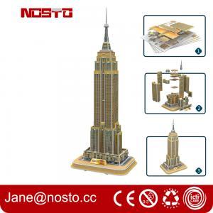 Wholesale 3D Puzzle Model  | World's Famous Building | Best Tourist Spot Souvenir from china suppliers