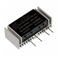 Wholesale SSR12AA 15-28VDC To 40-480VAC AC SSR Relay Module from china suppliers
