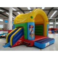 Wholesale Colorful Inflatable Toy Inflatable Mini Combo Jumper With Inflatabe  Slide from china suppliers