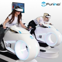 Wholesale 9d vr virtual reality vr motorcycle electric motor kids  funny games motor racing game machine from china suppliers