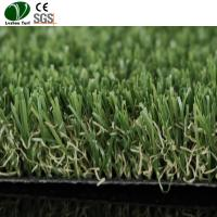 China Commercial Fake Grass Floor Mat 25mm Pile Landscaping 4 Colors Available on sale