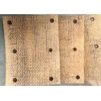 Buy cheap NON ASBESTOS BRAKE BLOCKS BRAKE LINING FOR DRILLING MACHINE COPPER WIRE INSIDE from wholesalers