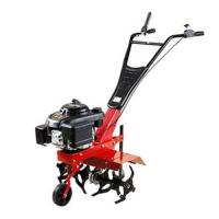 China 5hp Mini tractor Farm Gasoline Tiller multifunction manual digger cultivation tiller on sale