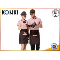 Wholesale Professional Stylish Restaurant Work Uniforms With Short Sleeve from china suppliers