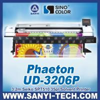 China 3.2m Digital Solvent Printer UD-3206P, 720dpi, With SPT510/35pl Heads on sale