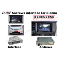 Android Auto Interface + Android Navigation Box for Toyota Sienna with Quad-Core