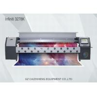 Wholesale 3200mm Infiniti Digital Solvent Printer 720dpi 3278K Flex Banner Printing Machine from china suppliers