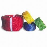 Wholesale PE Rope with 3/4/6/8 Strands Structure, Various Colors are Available from china suppliers