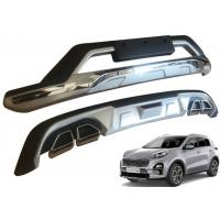 China Front Bumper Guard and Rear Diffuser with Chromed Garnish for 2019 KIA SPORTAGE on sale