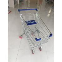 Wholesale Steel Supermarket Grocery Shopping Cart With Zinc Plating Clear Powder Coating from china suppliers