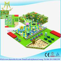 Wholesale Hansel Toys games gym equipment, fiberglass slides with ball pool from china suppliers