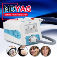 Wholesale No Scar 2000mj Mini ND YAG Laser Tattoo Removal Machine from china suppliers