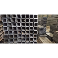 Wholesale S235 / S275 / S355 Square Steel Pipes / ERW Steel Structural Hollow Section Sch 40 from china suppliers