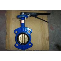 Wholesale Sanitary Cast Iron Wafer Butterfly Valve , API 609 / ISO 5752 / BS 5155 from china suppliers